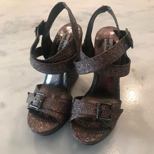 Not rated glitter wedges